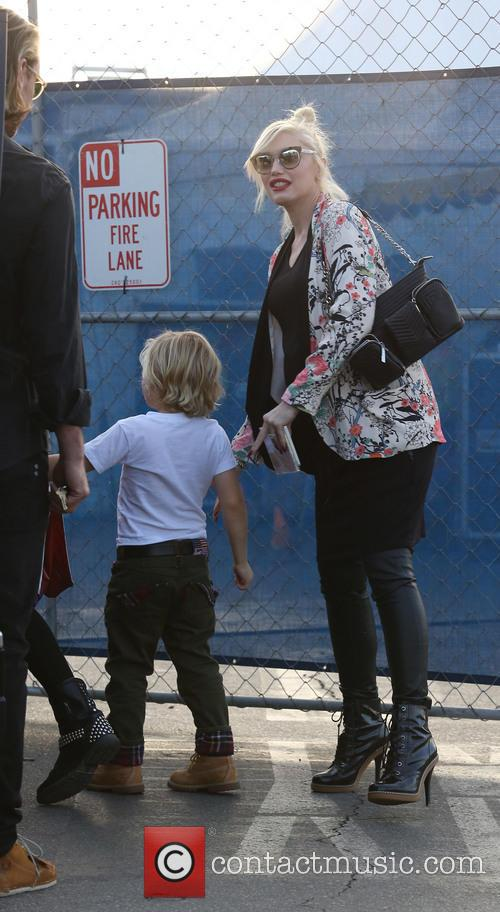 Gwen Stefani and Zuma Rossdale 10