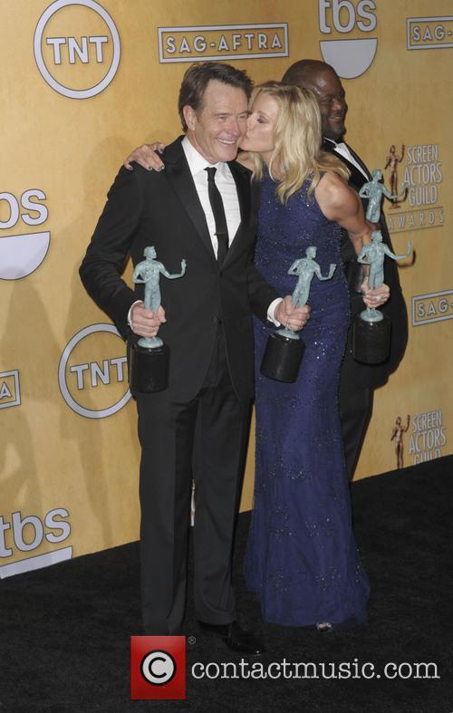 Anna Gunn and Bryan Cranston 5