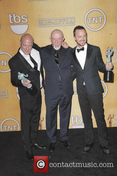 Dean Norris, Jonathan Banks and Aaron Paul 1
