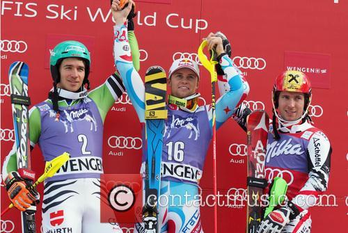Alpine, Felix Neureuther, Sieger Alexis Pinturault and Marcel Hirscher 4