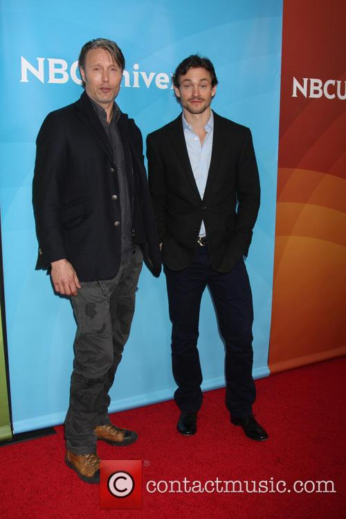 Mads Mikkelsen and Hugh Dancy 4