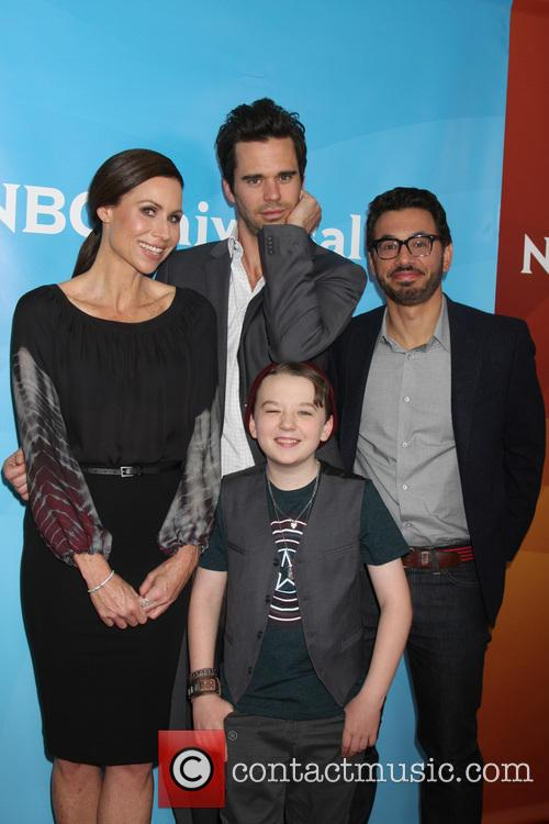 Minnie Driver, David Walton, Al Madrigal and Benjamin Stockham 2