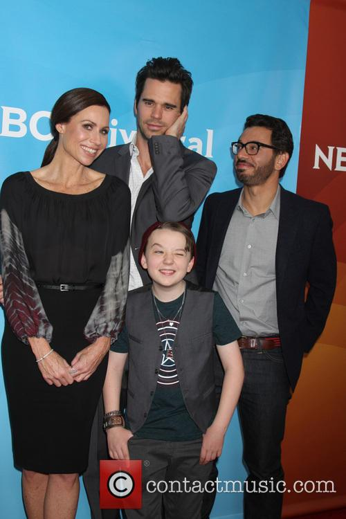 Minnie Driver, David Walton, Al Madrigal and Benjamin Stockham 3