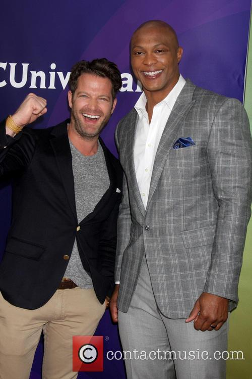 Nate Berkus and Eddie George 4