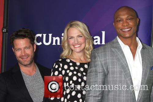 Nate Berkus, Monica Pedersen and Eddie George 1