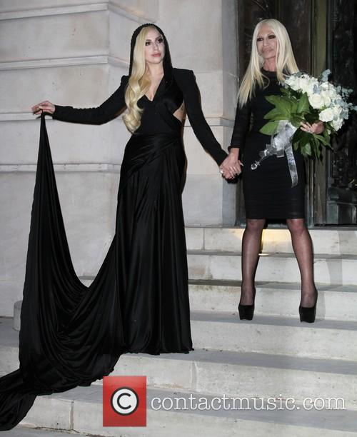 Lady Gaga and Donatella Versace 4