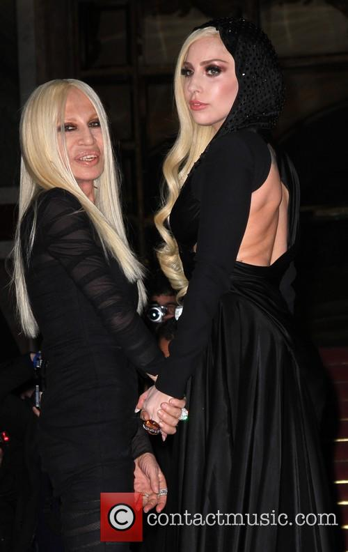 Lady Gaga and Donatella Versace 5