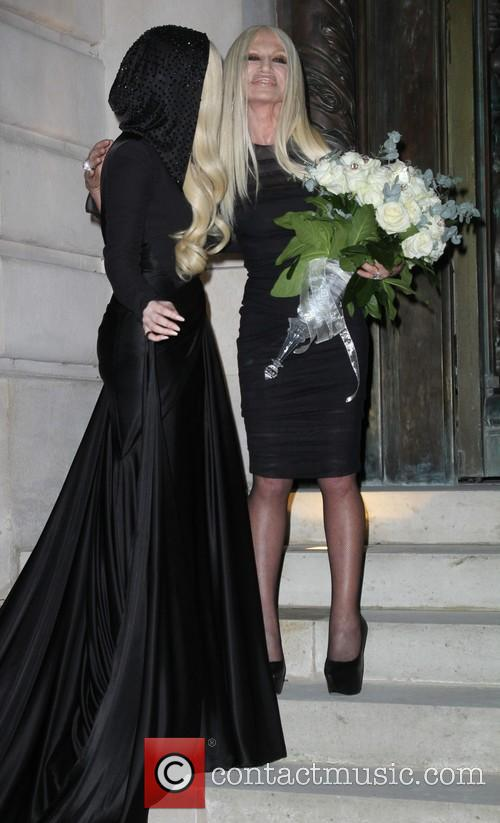 Lady Gaga and Donatella Versace 6