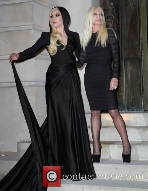 Lady Gaga and Donatella Versace 8