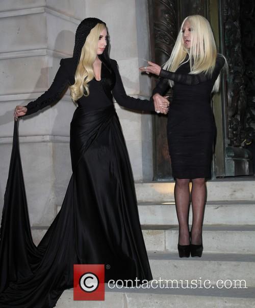 Lady Gaga and Donatella Versace 11
