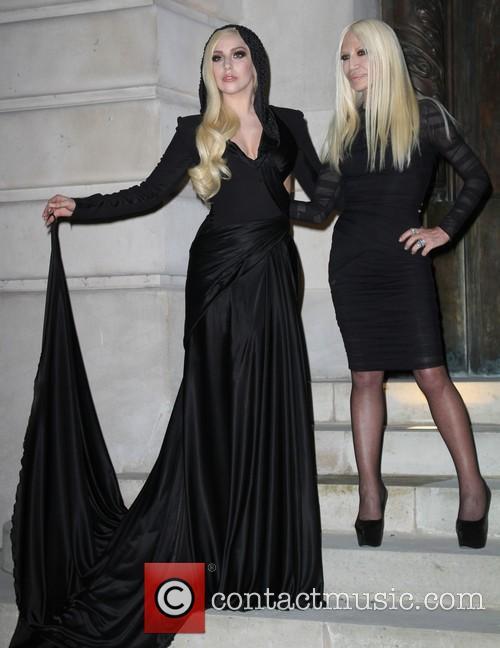 Lady Gaga and Donatella Versace 12