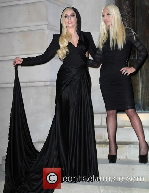 Lady Gaga and Donatella Versace 13