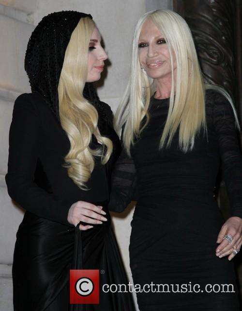 Lady Gaga and Donatella Versace 14