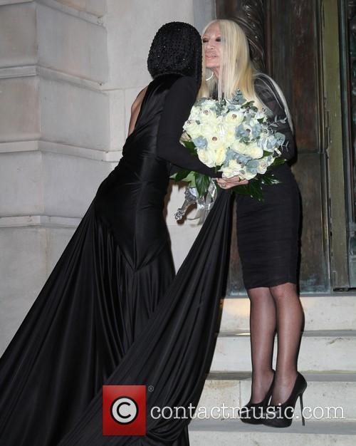 Lady Gaga and Donatella Versace 17