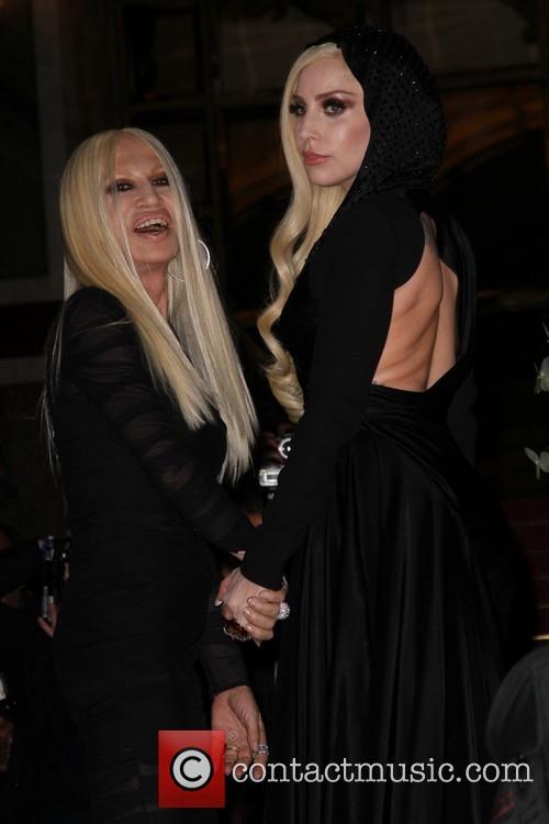 Lady Gaga and Donatella Versace 18