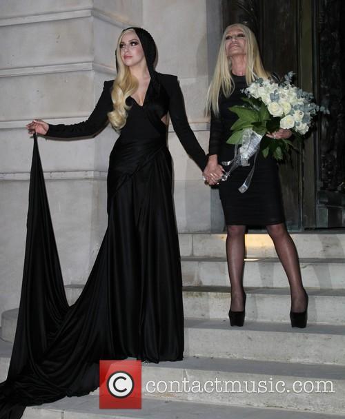 Lady Gaga and Donatella Versace 19