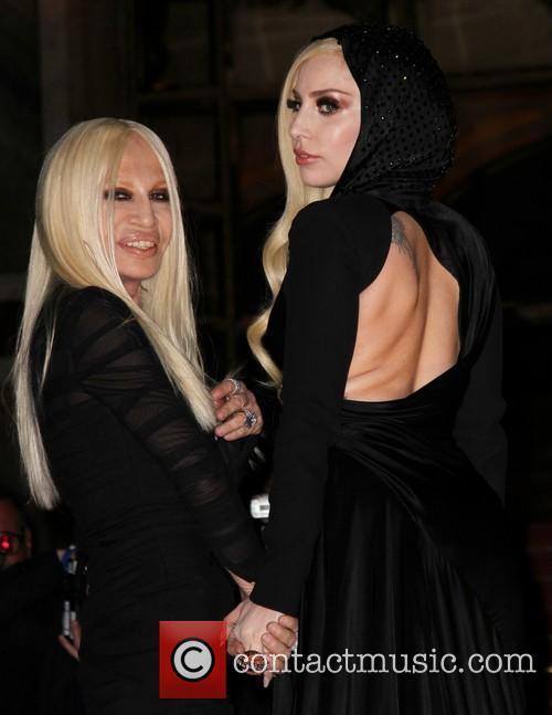 Lady Gaga and Donatella Versace 20