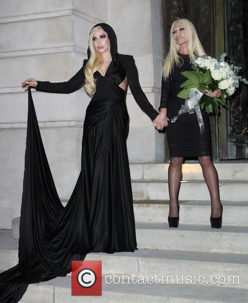 Lady Gaga and Donatella Versace 21
