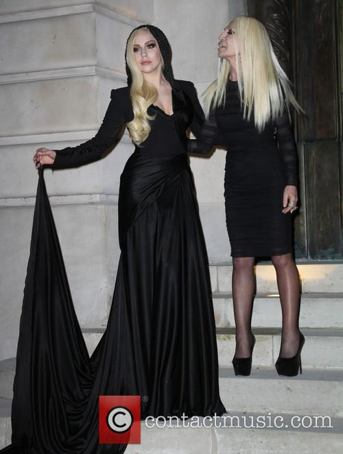 Lady Gaga and Donatella Versace 22