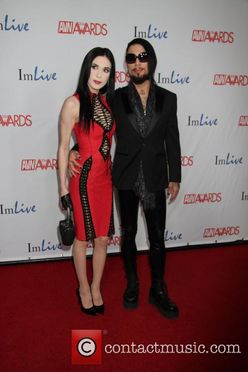 Dave Navarro and Aiden Ashley