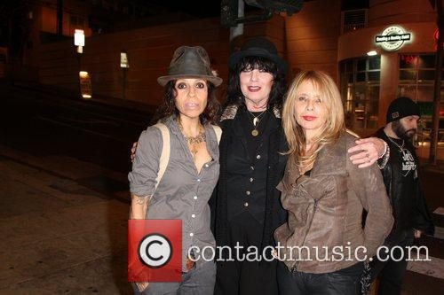 Linda Perry, Martha Davis and Rosanna Arquette