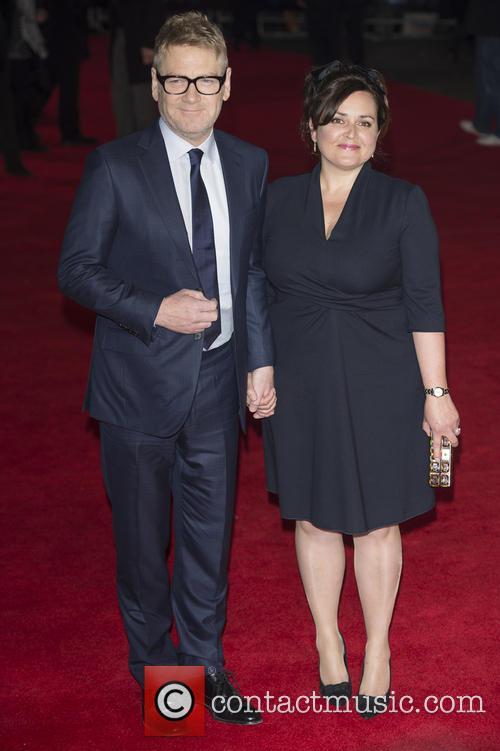 Kenneth Branagh and Lindsay Brunnock 2