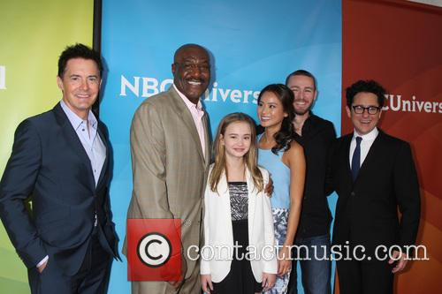 Believe Cast, Jj Abrams, Jamie Chung, Delroy Lindo, Kyle Maclachlan, Jake Mclaughlin and Johnny Sequoyah 3