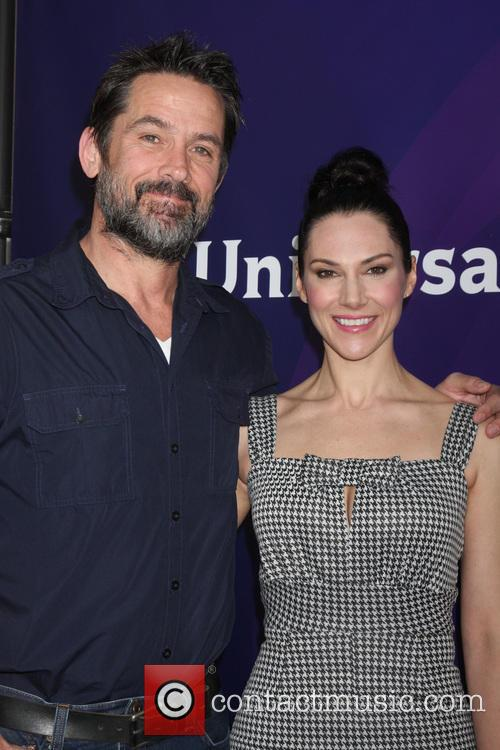 Billy Campbell and Kyra Zagorsky