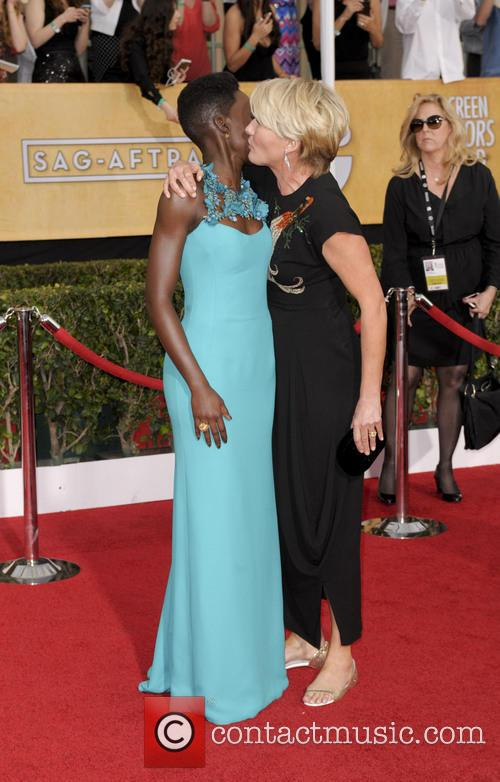 Emma Thompson and Lupita Nyong'o 2