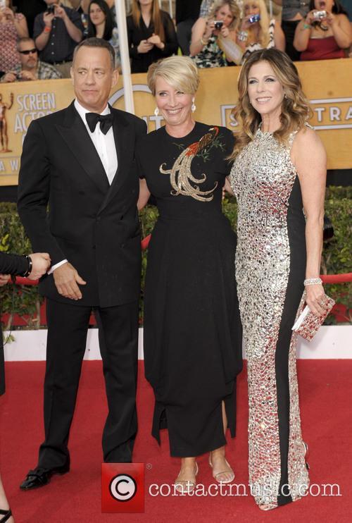 Tom Hanks, Emma Thompson and Rita Wilson 3