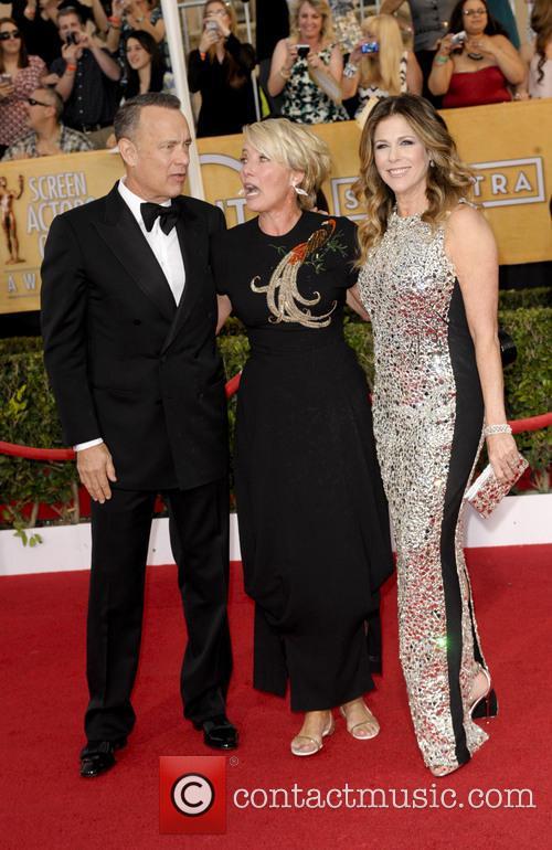 Tom Hanks, Emma Thompson and Rita Wilson 4