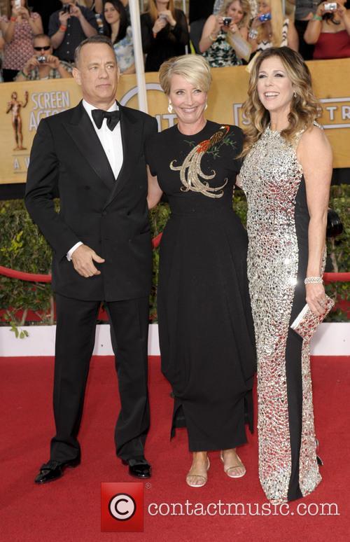 Tom Hanks, Emma Thompson and Rita Wilson 1