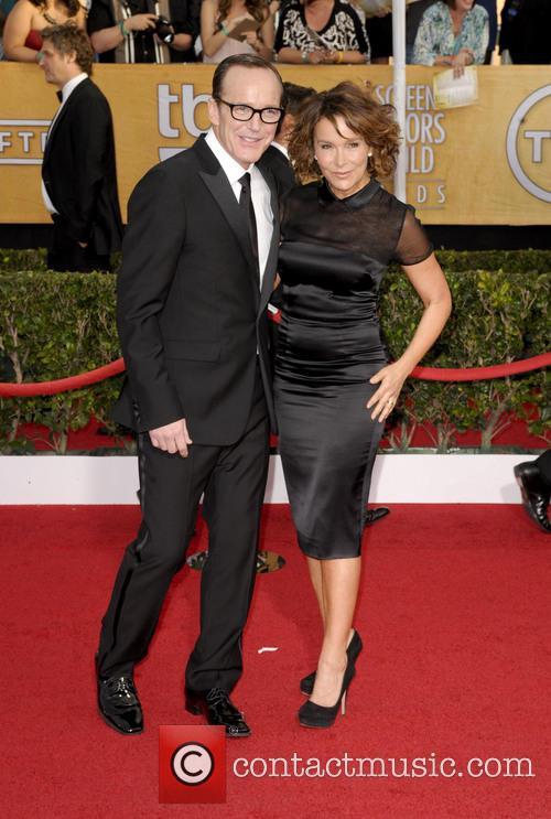 Clark Gregg and Jennifer Grey 2