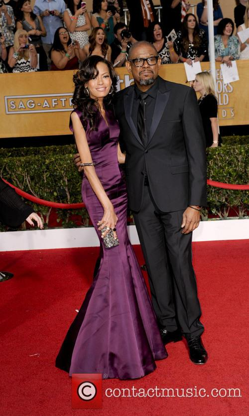 Forest Whitaker and Keisha Whitaker 3