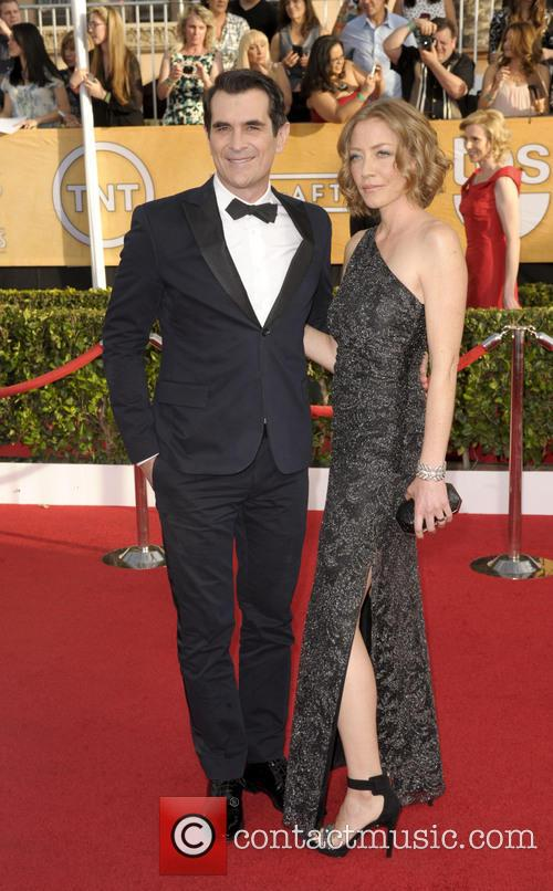 Ty Burrell and Holly Burrell 4