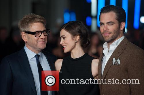 Kenneth Branagh, Keira Knightley and Chris Pine 2
