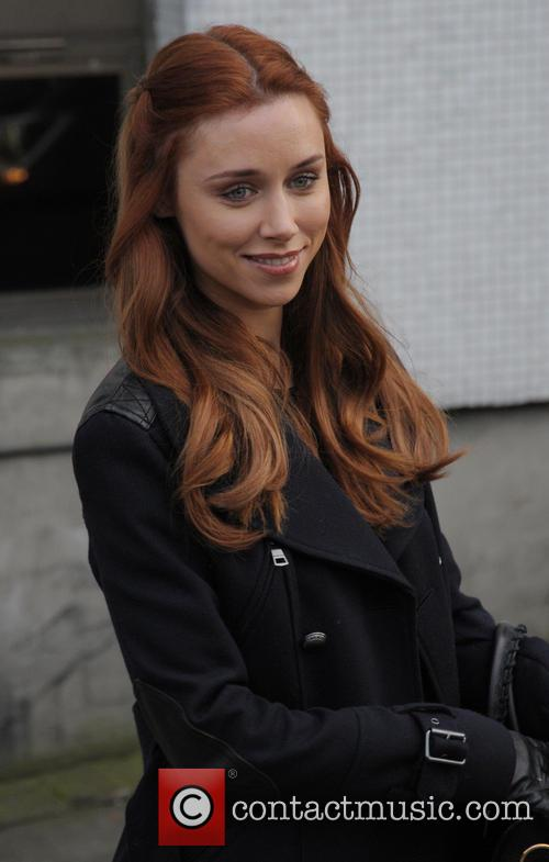 Una Foden Leaving the ITV Studios