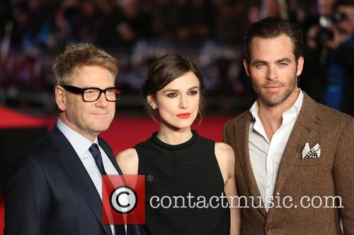 Chris Pine, Keira Knightley and Kenneth Branagh 2