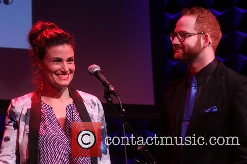 Idina Menzel and David Alpert 2