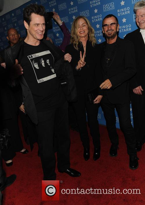 Jim Carrey, Ringo Starr, Barbara Bach and David Lynch 4
