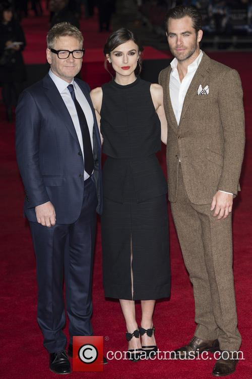 Kenneth Branagh, Keira Knightley and Chris Pine 15
