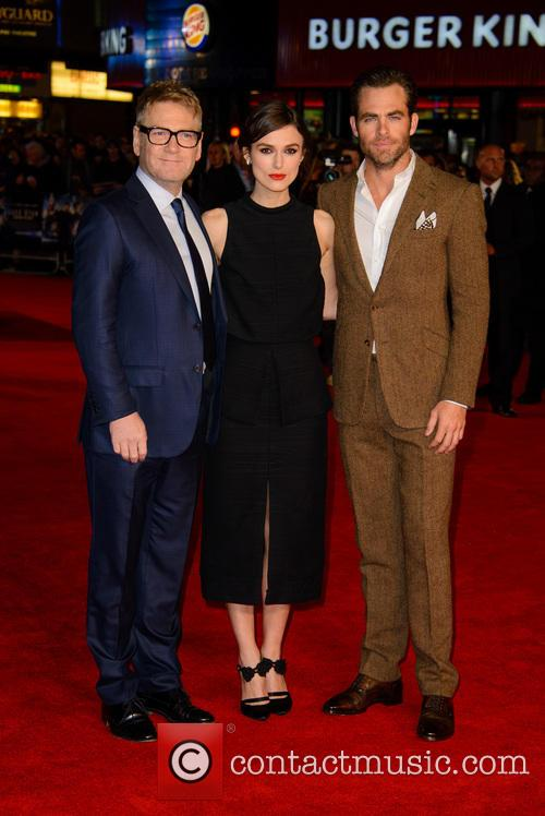 Kenneth Branagh, Keira Knightley and Chris Pine 16