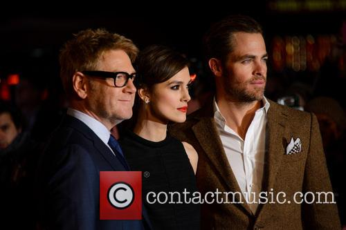 Kenneth Branagh, Keira Knightley, Chris Pine