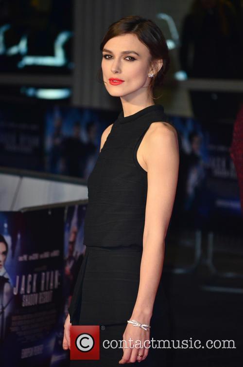 Keira Knightley Jack Ryan Premiere