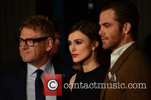 Kenneth Branagh, Keira Knightley and Chris Pine 8