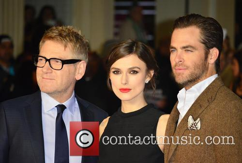Kenneth Branagh, Keira Knightley and Chris Pine 5