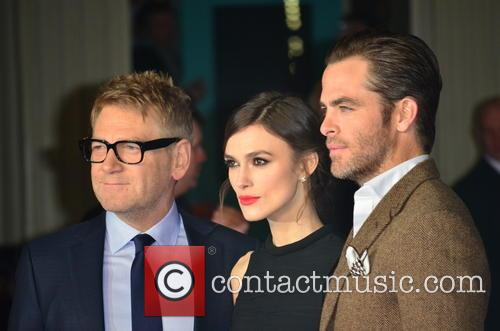 Kenneth Branagh, Keira Knightley and Chris Pine 6