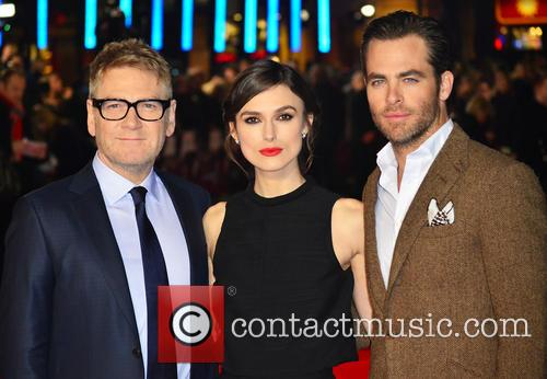 Kenneth Branagh, Keira Knightley and Chris Pine 7