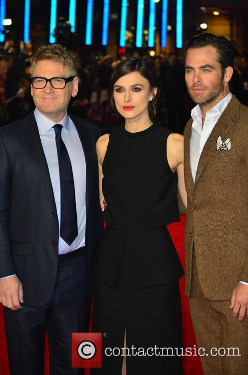 Kenneth Branagh, Keira Knightley and Chris Pine 9