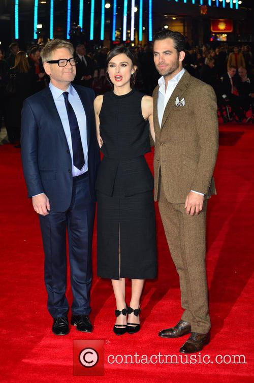 Kenneth Branagh, Keira Knightley and Chris Pine 10
